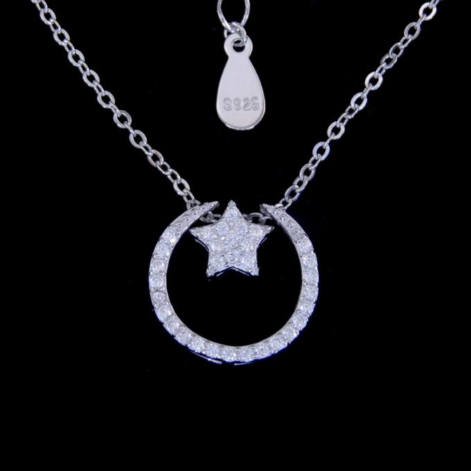 Pure Silver New Jewellery Design Rabbit Shape Cubic Zircon Party Jewellery