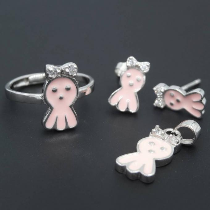 Selected Color Baby Jewellery Silver / Cute Sweet Strawberry Jewelry