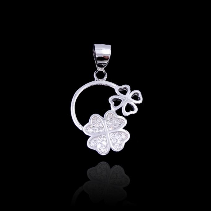 Cute Children Silver Jewellery / Chinese Culture Silver Sheep Pendant For Girls