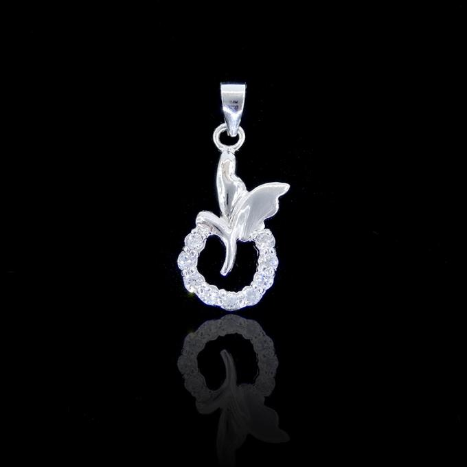 925 Silver Cubic Zirconia Pendant Jewellery Cross CZ Pendant For Christs