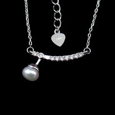 Charming Sterling Silver Pearl Jewelry Sterling Silver Jewelers Display