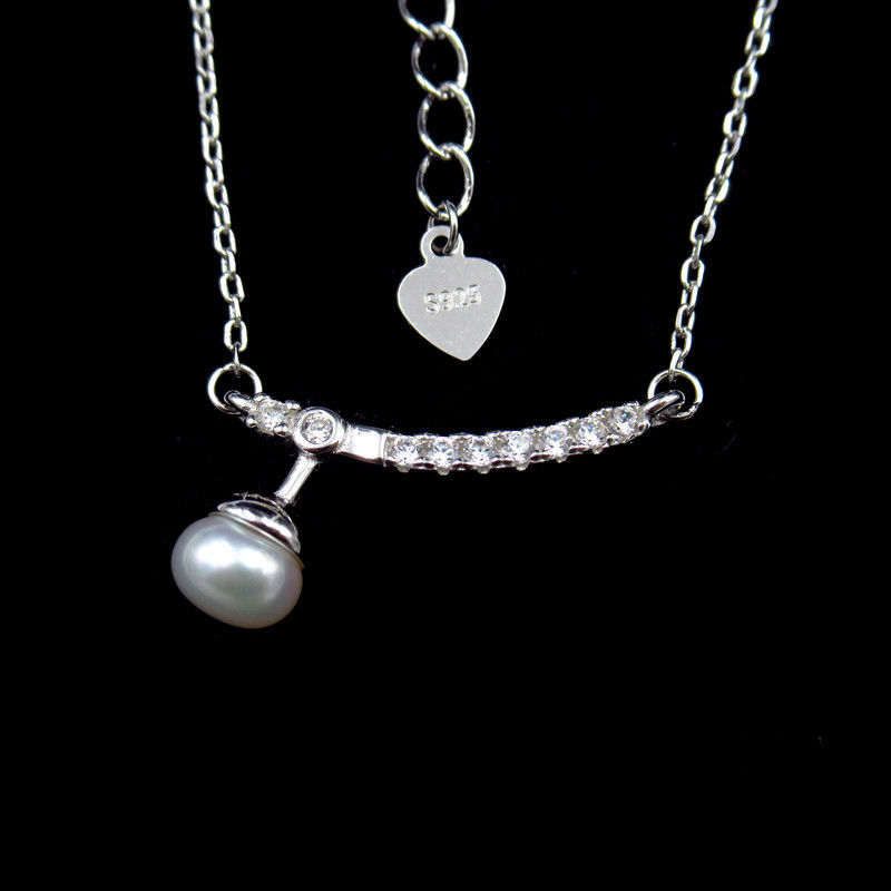 Charming Sterling Silver Pearl Jewelry Sterling Silver Jewelers Display supplier